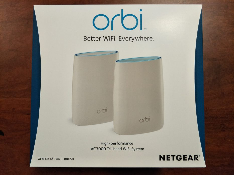 Netgear Orbi Rbk50 Covers Your Home With Strong Wifi