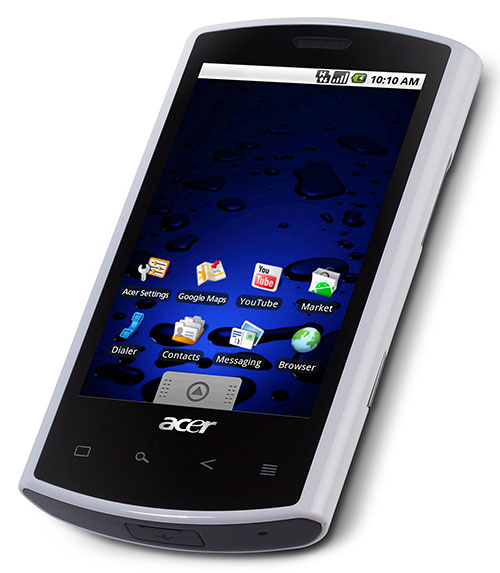 Acer Liquid A1 Android Mobile Phone (Review)