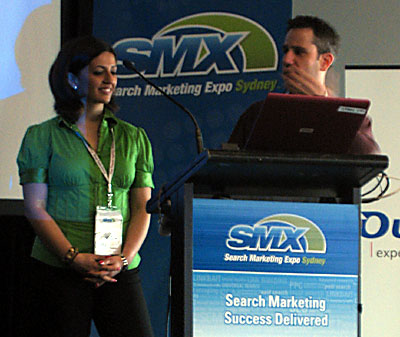 ani babaian and adam lasnik smx sydney