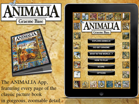 animalia ipad ebook app