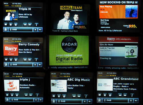 Australian digital radio stations slideshow