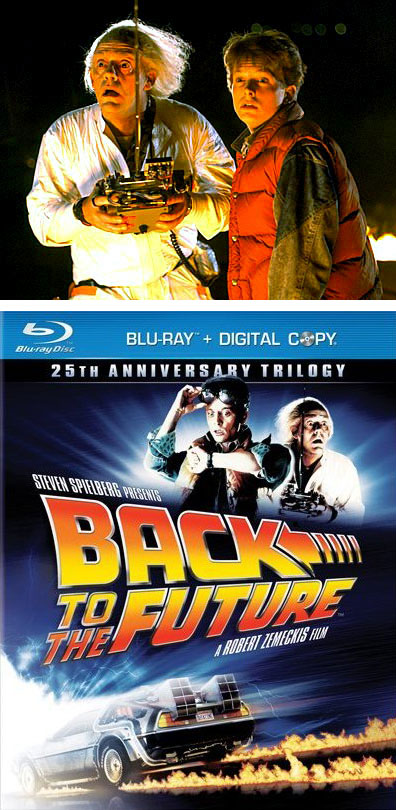 Back to the Future 25th Anniversary Trilogy on BluRay