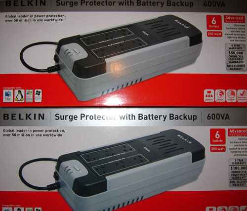 Ups Surge Protectors With Battery Backup Belkin