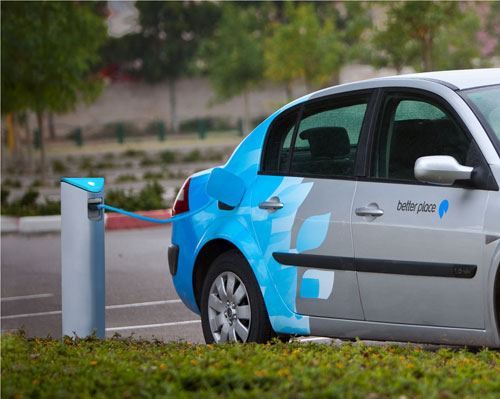 better place electric car
