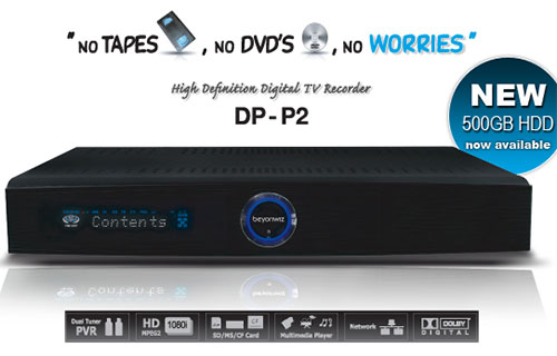 Beyonwiz DP-P2 PVR Media centre
