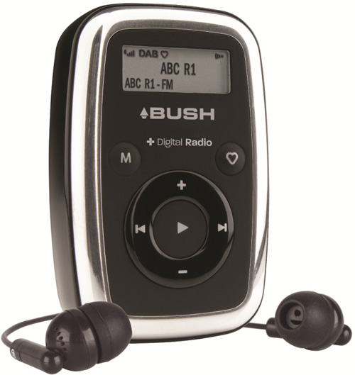 bush walker digital radio