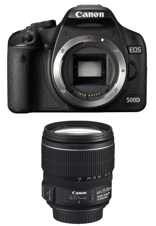 Canon EOS 500D SLR Digital Camera with 15-85mm USM EFS Lens (Review)
