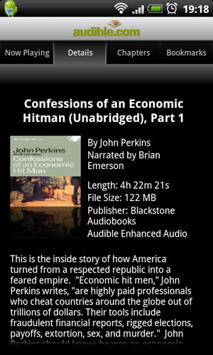 Confessions of an Economic Hitman audible audiobook
