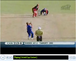 Live Video Streaming Cricket World Cup