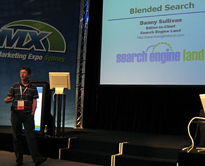 danny sullivan blended search smx sydney
