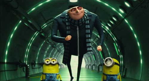 Despicable Me - Gru and his Minions