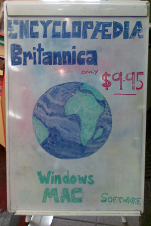 Encyclopedia Britannica on sale for $9.95