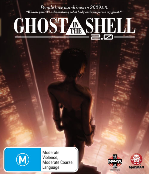 Ghost in the Shell 2.0 Cyberpunk Anime (DVD review)