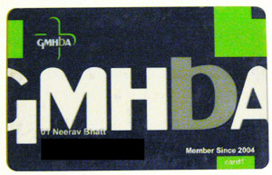 GMHBA membership card