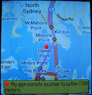 google maps on mobile geo location