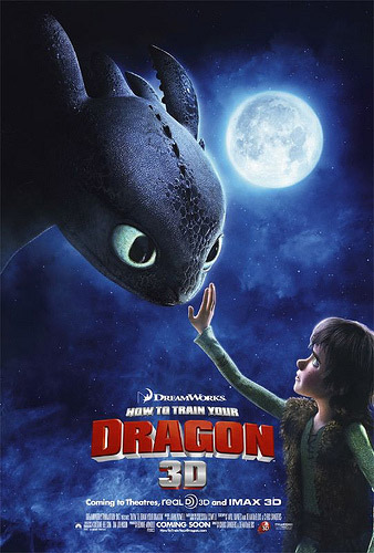 How To Train Your Dragon IMAX 3D poster