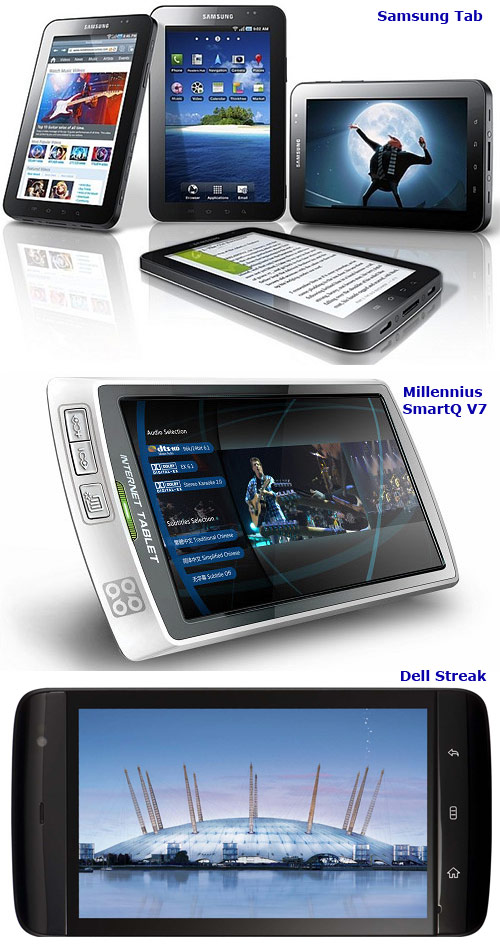 initial android tablets