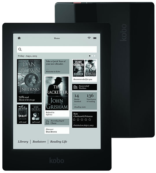 Kobo Aura HD eInk eBook Reader