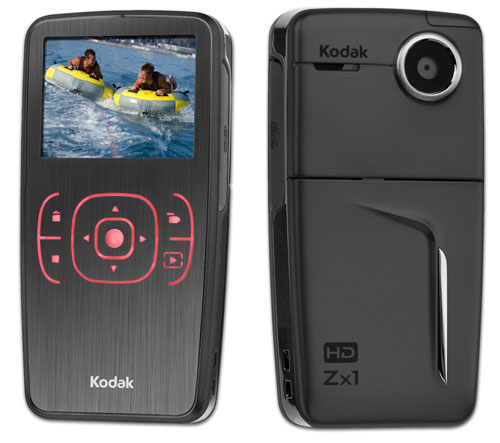 Kodak ZX1 Pocket HD Video Camera