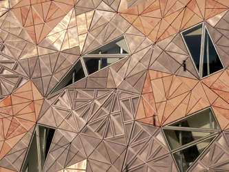 melbourne - federation square patterns