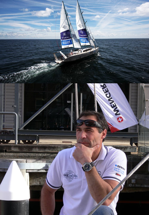 Mike Horn and his Yacht Pangaea