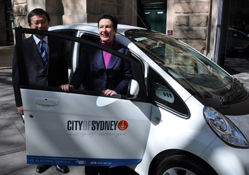 City of Sydney electric car