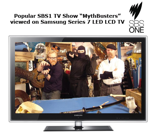 mythbusters on sbs1 digital tv