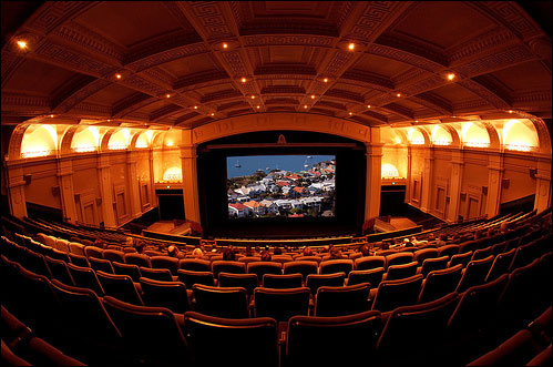old movie theatre
