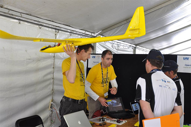 openuas team - 2012 UAV Outback Challenge