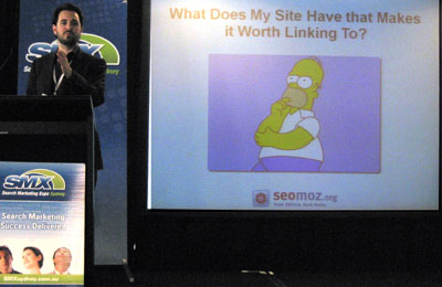rand fishkin seomoz smx sydney
