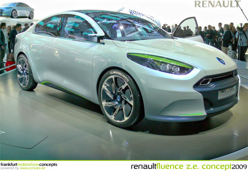 Renault Fluence Electric Car photo credit: concars