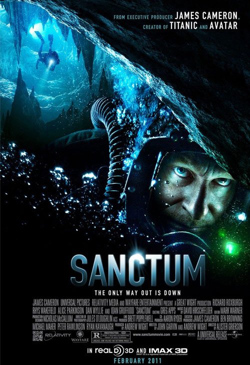 Sanctum 3D (Movie Review) starring Richard Roburgh Ioan Gruffudd