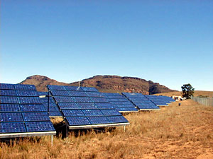 solar panels flinders ranges