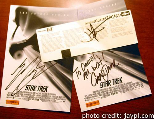 star trek signatures