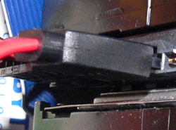 Straight both ends SATA cable