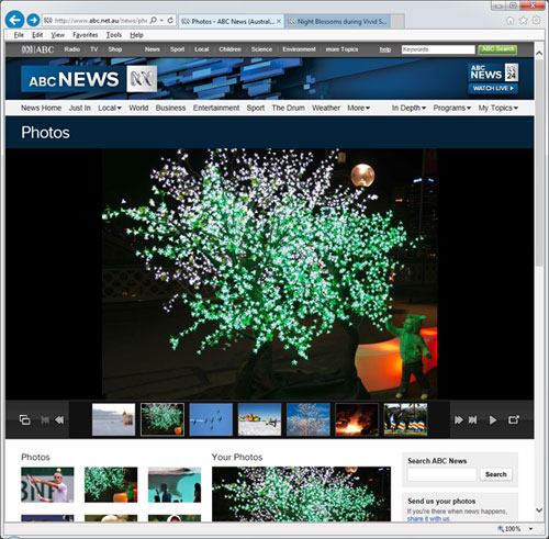 vivid sydney abc news photo