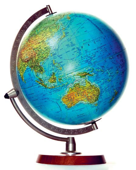 world globe