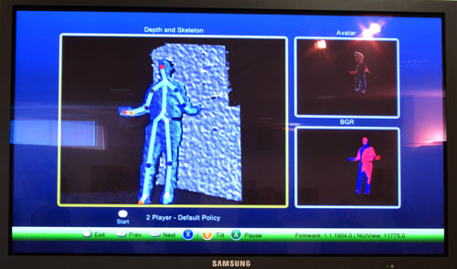 Microsoft XBOX Kinect Human Body Game and TV Controller ...