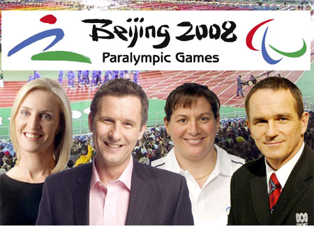 ABC TV hosts - 2008 Paralympics