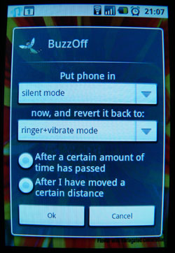 Android Buzzoff