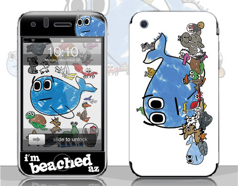 Beached Az - Smirkabout iPhone Skin