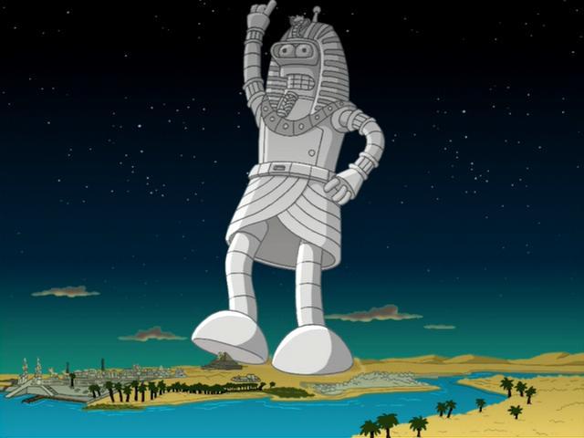 Futurama episode - A Pharaoh to Remember
