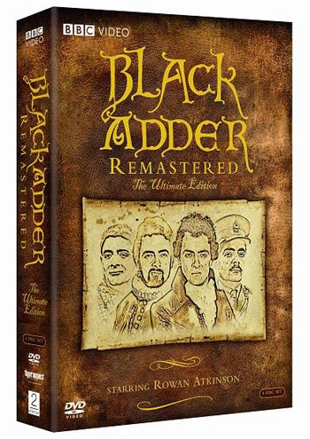 Black Adder The Ultimate Edition Remastered DVD Boxset (Review)