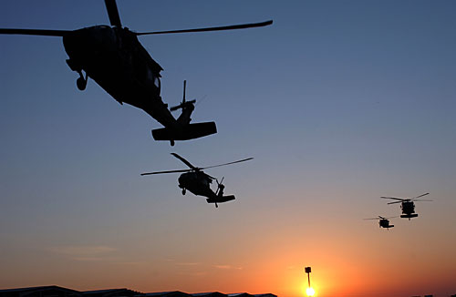 black hawk helicopters iraq