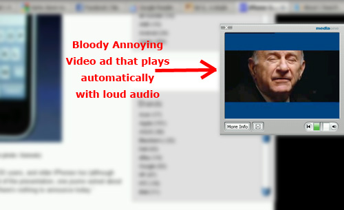 Lose Friends and Annoy People With Intrusive Internet Video Advertising