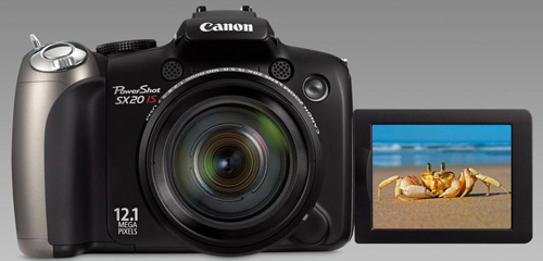 Canon SX20is 20x Ultrazoom Digital Camera