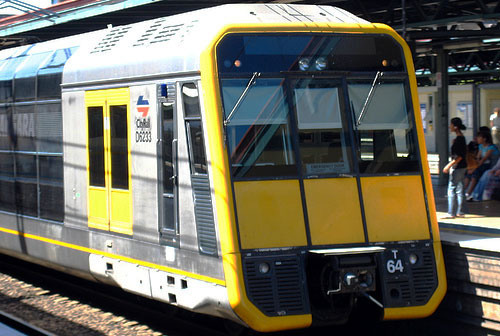 Cityrail Tangara Train