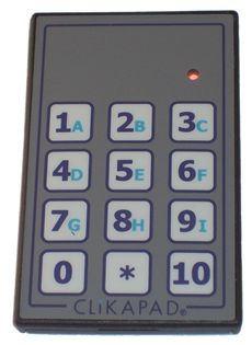 ezicomm clikapad wireless voting keypad