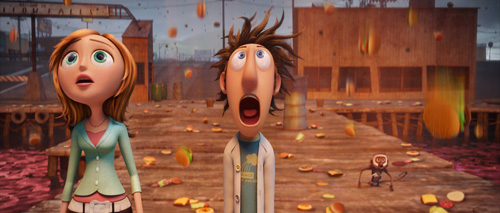 Cloudy With A Chance of Meatballs (Bluray Movie Review)