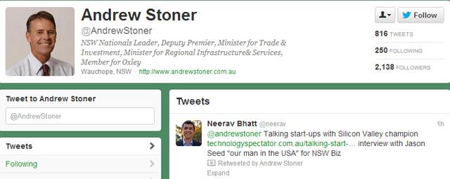 Deputy Premier Retweet
